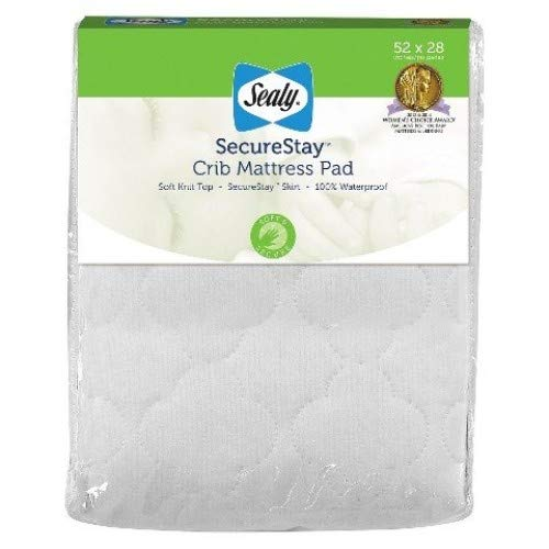 - Sealy SecureStay Crib Mattress Pad