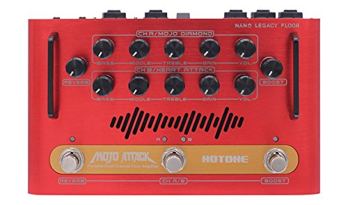 Hotone MojoAttack Portable Dual Channel Floor Amplifier by Hotone