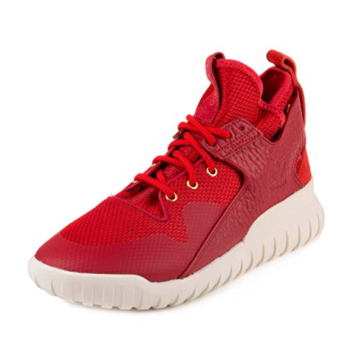 adidas Mens Tubular x CNY Chinese New Year Power Red/Gold Metal Synthetic Size ()