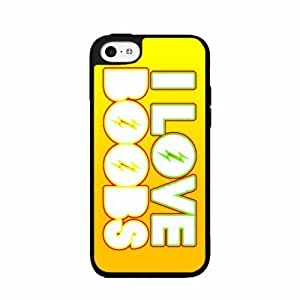 I Love Boobs- TPU RUBBER SILICONE Phone Case Back Cover iPhone 5c