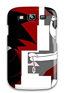 First-class Case Cover For Galaxy S3 Dual Protection Cover Love Emo Desktop Image