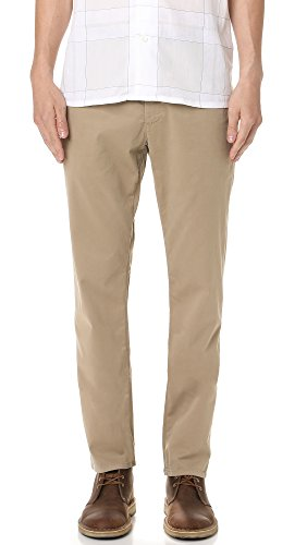 AG Adriano Goldschmied Men's The Lux Khaki Tailored Trouser,  Wheat, 30 Tailored Chino