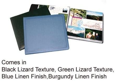 Printfile Black Lizard Texture 12 Pages With White Inserts Printfile SB811BLK