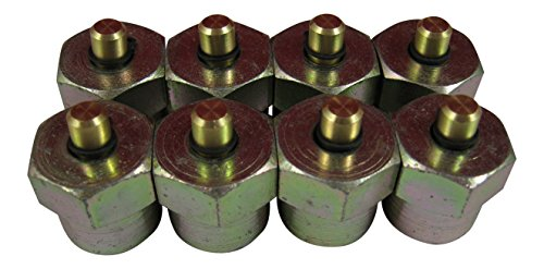 AccurateDiesel Duramax LB7 LLY Diesel Injector Block-Off Tool / Cap (Set of 8) by AccurateDiesel (Image #1)