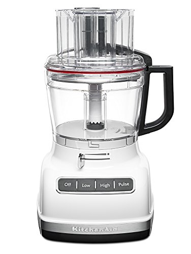 KitchenAid KFP1133WH 11-Cup Food Processor with Exact Slice System - White