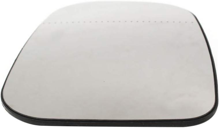 3001-847 Reemplazo para Volvo C30 C70 S60 S40 S80 V70 Kstyhome Espejo retrovisor de Vidrio con Espejo Exterior Derecho 3001-893 3001-893 Medio 09-17