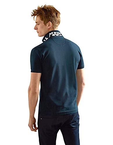 Hommes Marine Chemise Martina Polo Scottie Fit Slim La De F4nv5Pwp