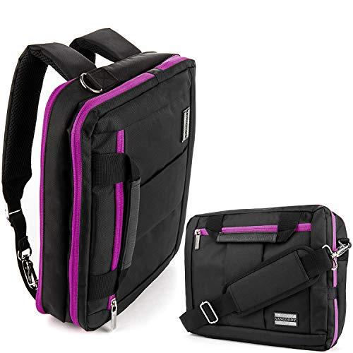 (15.6 Inch Laptop Shoulder Messenger Bag Backpack Fit Acer Aspire VX 15, Nitro 5, Nitro 5 Spin, Aspire 5, Chromebook 15, Aspire, Dell Inspiron 15, Latitude 15, Precision 15, Asus ROG, VivoBook, Zenbook)