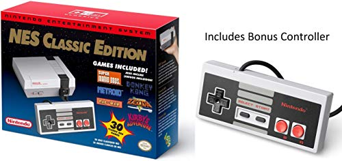 Price comparison product image Nintendo Entertainment System: NES Classic Edition With Bonus Controller