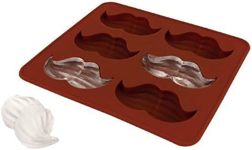 Mustache Silicone Chocolate Moustache Tray Cube Jelly Beard Muffin Fondant Ice