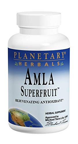 Amla Superfruit 500mg Planetary Herbals 60 Tabs