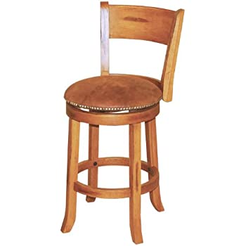 Amazon Com Sunny Designs 1883ro Sedona Swivel Stool With