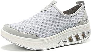 Sweepstakes: ZYEN Women's Comfort Mesh Walking Shoes...