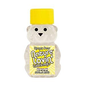Nature Loving Honey Bear Water Based Lubricant, 1.7 Fl Oz
