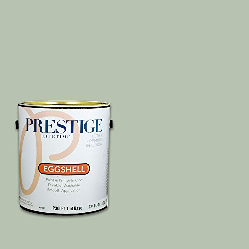 Prestige, Greens and Aquas 5 of 9, Interior Paint and Primer In One, 1-Gallon, Eggshell, Elm Street