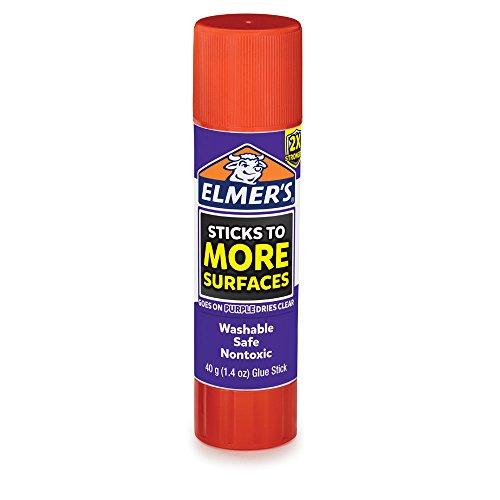 Elmer's Extra Strength School Glue Sticks, Washable, 6 Gram, 4 Count by Elmer's (Image #1)