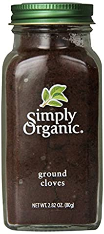 Simply Organic Cloves Ground Certified Organic, 2.82-Ounce Container - Nutmeg Spice