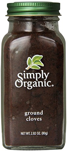 Simply Organic Cloves Ground Certified Organic, 2.82-Ounce