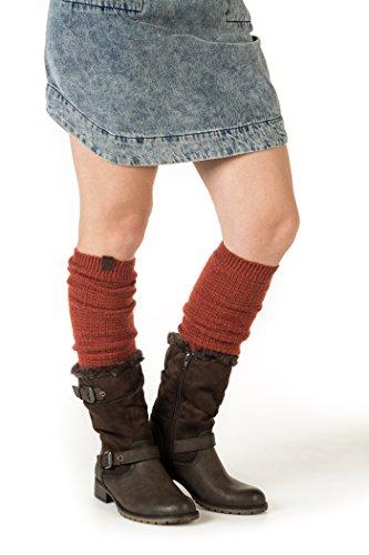 Leg Warmers Acrylic (Marino Long Leg Warmers For Women - Winter Knee High Knit Leg Warmer Socks, Enclosed in an Elegant Gift Box)