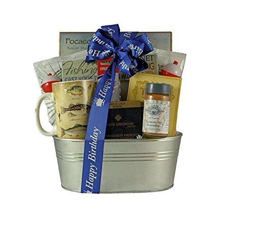 Great Arrivals Birthday Fishing Gift Basket, Gone Fishing