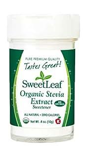 SweetLeaf Organic Stevia Extract, 0.4 Ounce