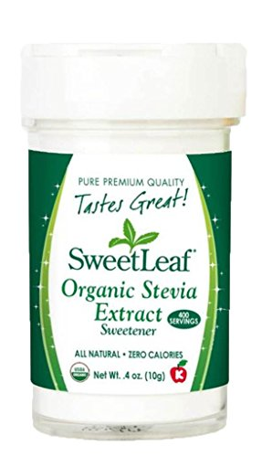 Wisdom Natural Brands SweetLeaf Organic Stevia Extract, 0...