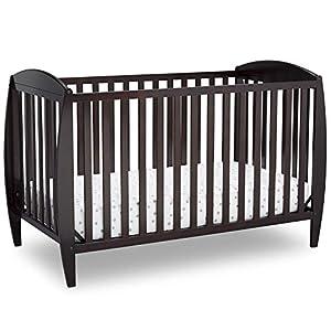 Delta Children Delta Children Archer 4-in-1 Convertible Baby Crib, Dark Chocolate, Dark Chocolate