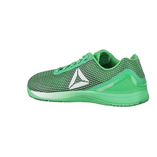 Reebok R Crossfit Nano 7.0, Zapatillas Deportivas para Interior para Hombre Verde (Verde Bottle Green/black/white/silver)