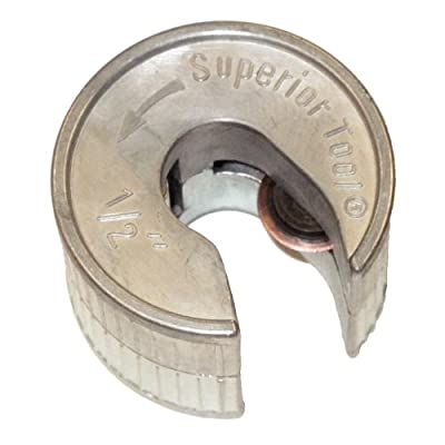 Superior Tool 35012 1/2-Inch QuickCut Easy to Use Tube Cutter by Superior Tool Company