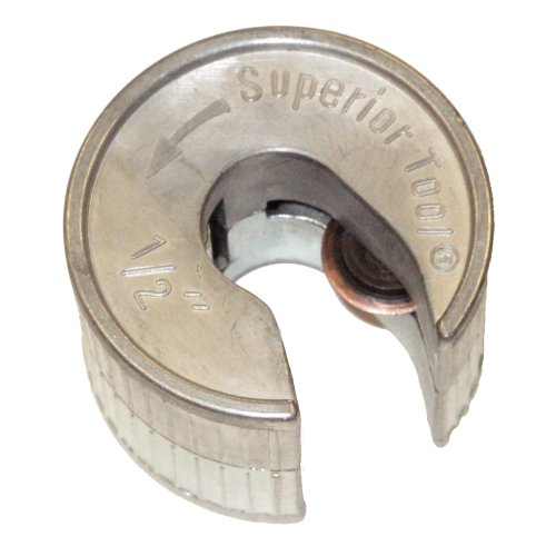 Superior Tool Company Pipe Cutter, 1/2 in, Zinc