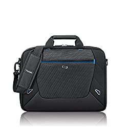 Solo Soar 16 Inch Laptop Slim Brief, Black