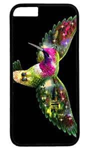 Hummingbird Bird Art Masterpiece Limited Design PC Black Case for iphone 6 by Cases & Mousepads by ruishername