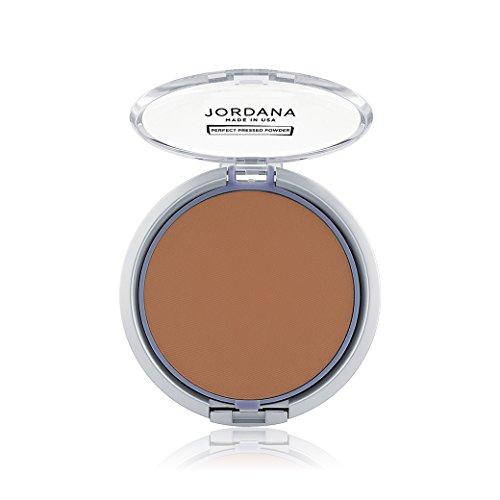 (3 Pack) JORDANA Perfect Pressed Powder - (Amber Pressed Powder)
