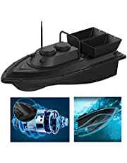Fischfinder Futterboot Baitboat, D11 Angeln RC Boot Fishing Bait Boat 2,4 G,High Speed 500m Ferngesteuertes Boot, Fischköder 1.5kg,Hoch Wasserdicht Köderboot mit Geräuschloser Doppelmotor
