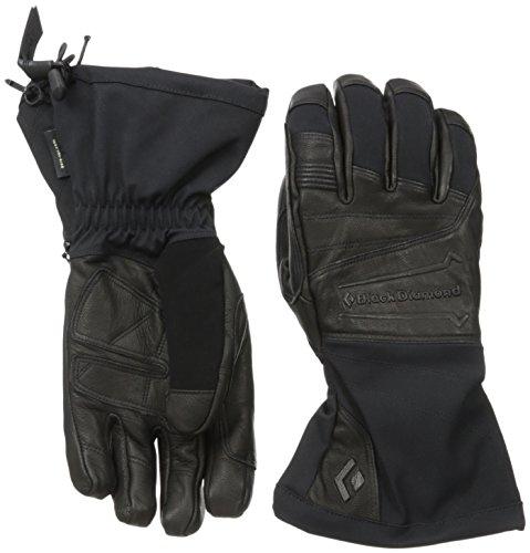 Black Diamond Virago Skiing Gloves, Black, Small