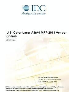 U.S. Color Laser A3/A4 MFP 2011 Vendor Shares Alyson Frasco