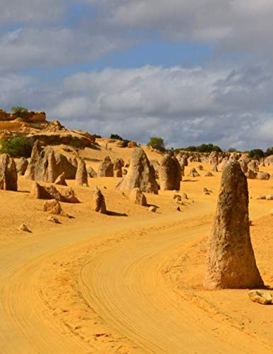 Notebook: Nambung National Park Western Australia The Pinnacles Australian