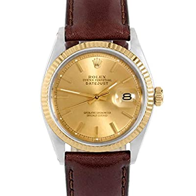 Rolex Datejust Swiss-Automatic Male Watch 1601 (Certified Pre-Owned) by Rolex