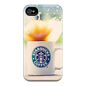 SherriFakhry Iphone 6 Protector Hard Phone Cover Customized High Resolution Starbucks Pictures [gyC17618bleT]