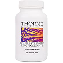 THORNE RESEARCH - Double Strength Zinc Picolinate (30mg) - 180ct [Misc.]