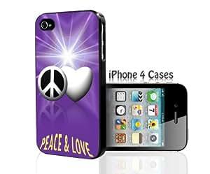 Peace & Love iPhone 4/4s case