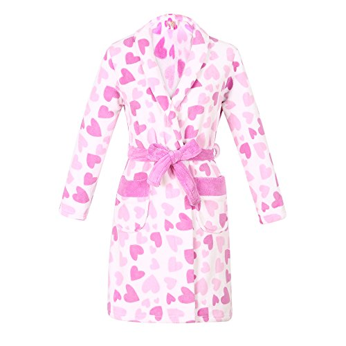 Amazon #DealOfTheDay: Richie House Girls' Warm and Soft Bathrobe Robe Size 8-12Y RH2520