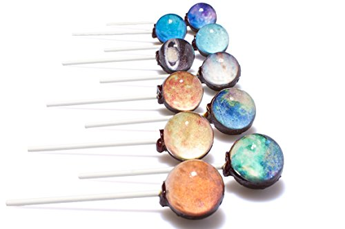 Sparko Sweets Galaxy Lollipops