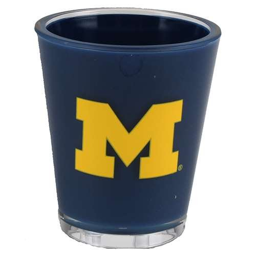 Duck House Michigan Wolverines Shot Glass