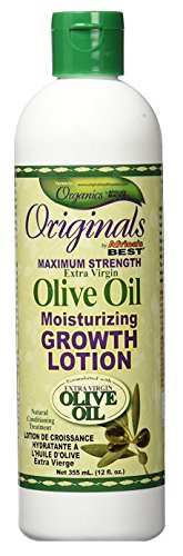 Africas Best Orig Olive Oil Max Strength Grow Lotion 12 Ounce (355ml) (2 Pack) (Oil Best Africas Olive)