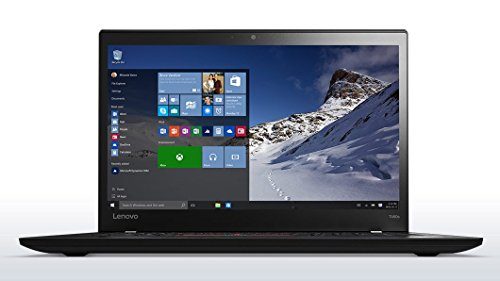 Lenovo ThinkPad T460s Business Performance Windows 10 Pro Laptop - Intel Core i7-6600U, 8GB RAM, 256GB SSD, 14