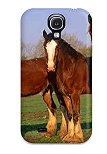 Awesome Horse Flip Case With Fashion Design For Galaxy S4