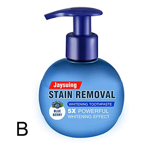 Liveday Baking Soda Toothpaste Whitening Stain Remover Press Intensive Toothpaste for Brushing Teeth 220g Bathroom Must