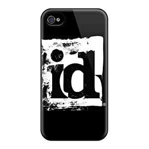 CAmMXzU5876lZgXJ Case Cover Id Software Iphone 4/4s Protective Case