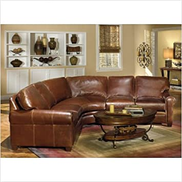 Enjoyable Bradington Young Leather Sectional Sofa Baci Living Room Andrewgaddart Wooden Chair Designs For Living Room Andrewgaddartcom